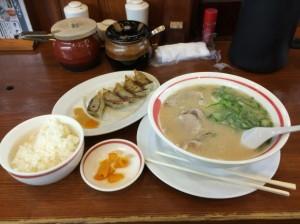 武蔵ラーメンセット